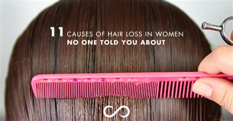 what causes hair loss in 50 11 causes of hair loss in women no one told you about