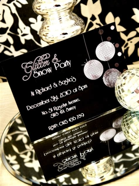 themed parties for new years a glitter and snow new year s eve party party ideas