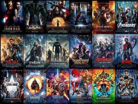 marvel film watch order mcu theatrical posters so far marvelstudios