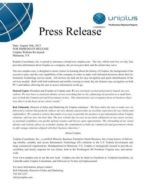 Press Release Format Images Download Cv Letter And Format Sle Letter Press Release Website Template