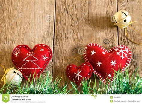 Handmade Hearts - decoration stock photo image of closeup