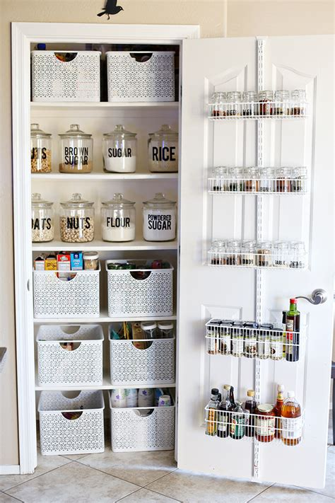 Pantry Makeover by Organization Small Pantry Makeover See Craft