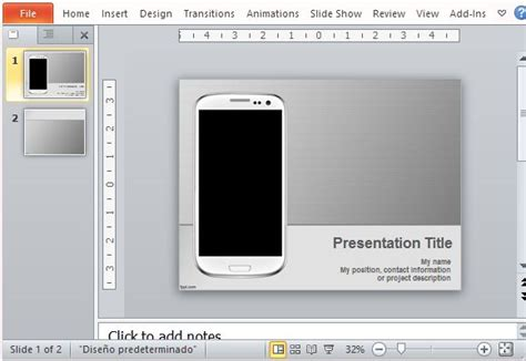 presentation templates for mobile best free technology powerpoint templates
