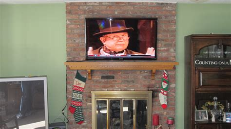milford ct mount tv above fireplace home theater