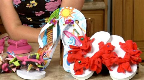 how to decorate a sophie s world decorating flip flops introducing hanna