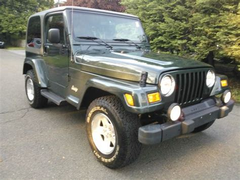 2004 Jeep Wrangler Top Buy Used 2004 Jeep Wrangler Tj Top 6cyl 34k