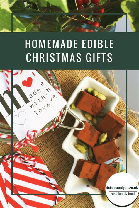 homemade edible christmas gifts daisies pie