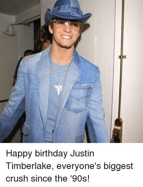 Justin Timberlake Happy Birthday Meme - happy birthday justin timberlake everyone s biggest crush