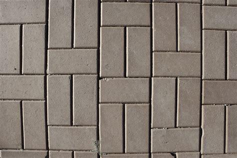 Gray Brick Pavers Gray Brick Pavers Sidewalk Texture Picture Free