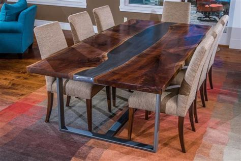 Rivers Edge Dining Room Furniture by Live Edge Furnitu With Dining Table Ideas Images Woodwork