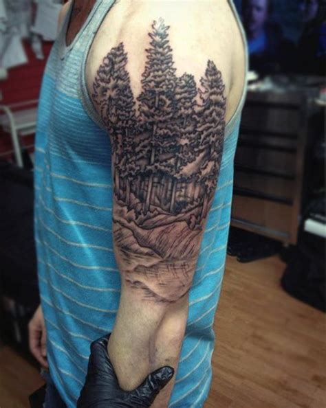 nature tattoo sleeve 100 nature tattoos for great outdoor designs
