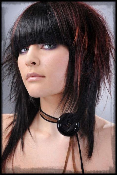 cortes de pelo y colores que se usan en este invierno 2016 cortes de pelo emo para mujer con fleco cortes de