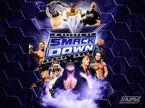 theme song smackdown 2015 wwe smackdown new theme song 2009 lyrics youtube