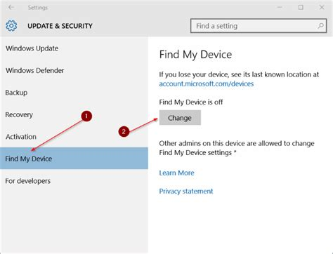Find My Device How To Use Find My Device Feature In Windows 10