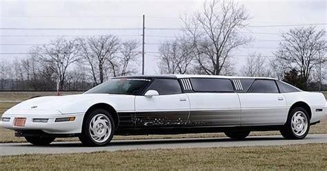 stretch corvette zu verkaufen corvette c4 stretch limousine tuningblog