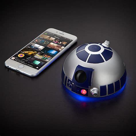 wars gadgets wars r2 d2 bluetooth speakerphone thinkgeek