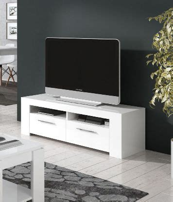 Cubo White Gloss TV Cabinet Entertainment Unit