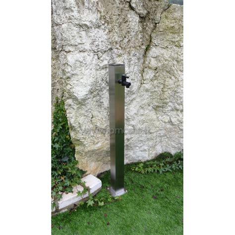 fontane giardino fontane da giardino acciao quadrato cm601 inox pmc