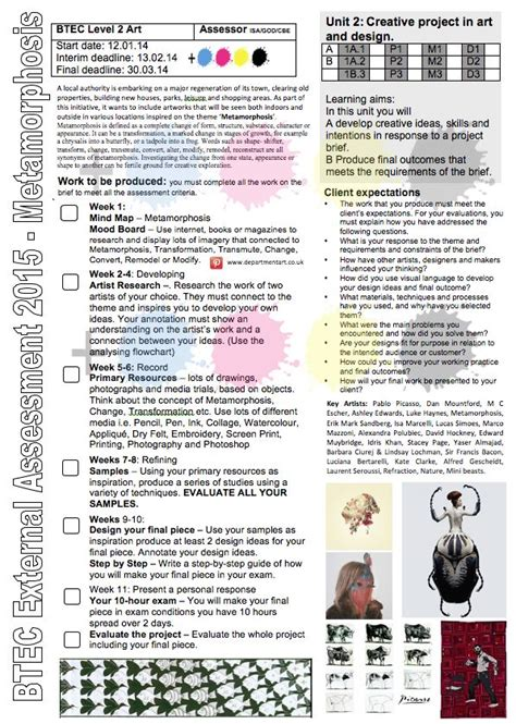 design brief for high school students 19 best self study design brief images on pinterest