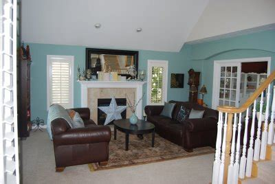 blue paint for living room living rooms painted blue interior decorating