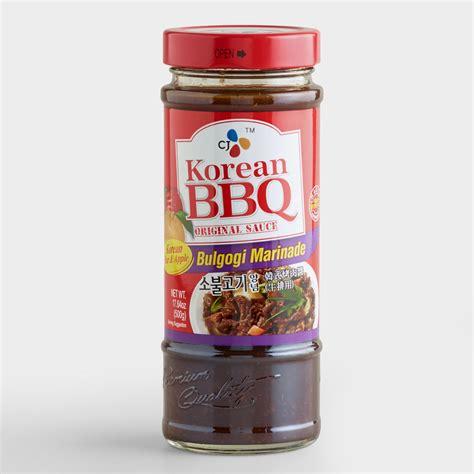 Home Decor Online Sale by Korean Bulgogi Bbq Sauce Set Of 2 World Market