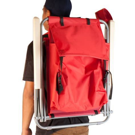 Chair Backpack by Portable Chair Backpack Chair Folding Solid
