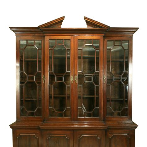 antique bookshelves for sale george iii breakfront bookcase in mahogany for sale