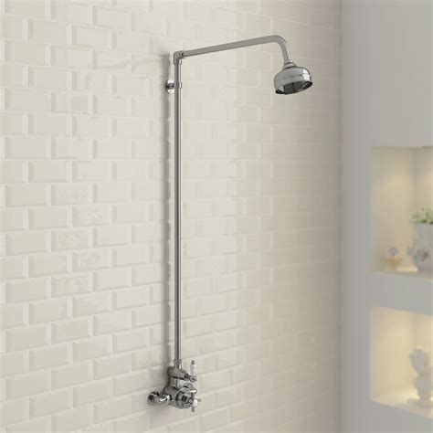ultra traditional twin exposed thermostatic shower valve