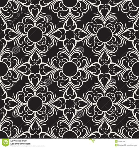 ornamental seamless pattern vector abstract background vector decorative floral seamless pattern stock vector