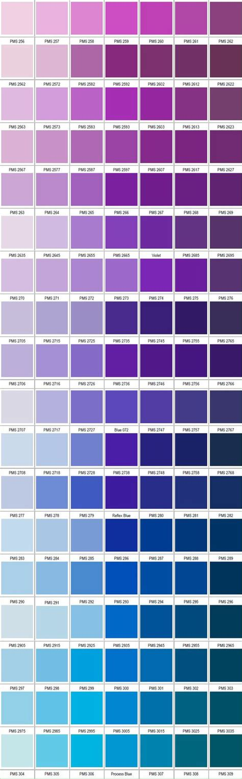pantone color schemes pantone violet blue colors pinterest colour palettes