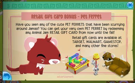 Animal Jam Retail Gift Cards - updates as of 7 31 15 animal jam seekers