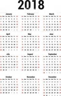 Kalender 2018 Vector Calendar 2018 Stock Vector 501812927 Istock