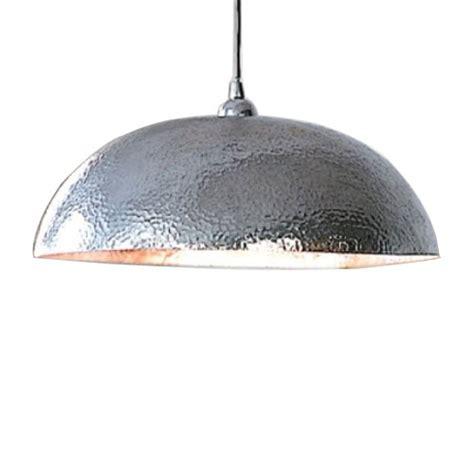 hammered steel pendant light stainless steel hammered stainless pendant light fabulous
