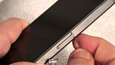 iphone 4 sim card iphone 4 how to remove and insert a sim card