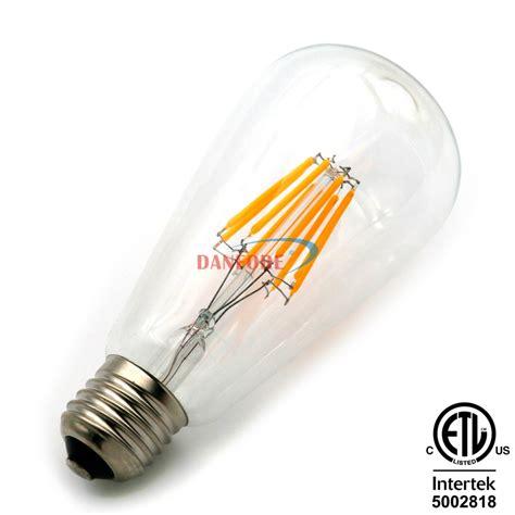 glass cover ac110v ac230v st18 st58 led e27 bulb led