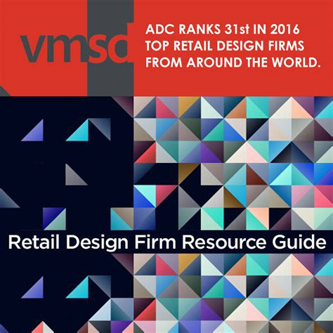 top design firms in the world adc ranked 31st top retail design firm from around the world