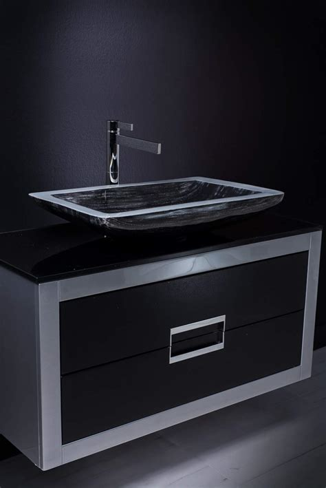 black bathroom vanity with sink 40 inch bathroom vanity with sink black and silver
