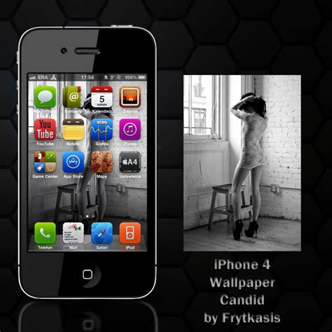 Candid Hardshell For Iphone 6 candid for iphone 4 by frytkasis on deviantart