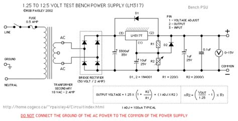 lm317 bench power supply homemade lm317 bench power supply all