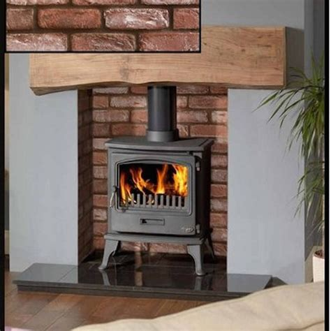 Log Burner Fireplace Surrounds by Cladding Surrounds For Wood Burners Hereford Brick