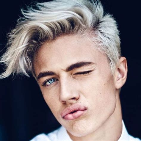 blonde hairstyles  men blessing feeds