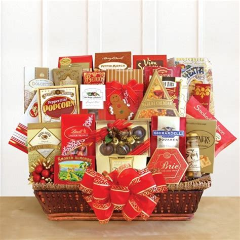 gifts galore holiday basket free shipping