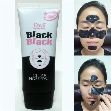 Masker Peel charcoal nose strips peel mask pack blackhead pore
