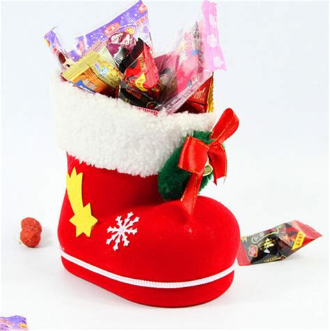 wholesale christmas home decor wholesale 2015 new arrival christmas stocking boot