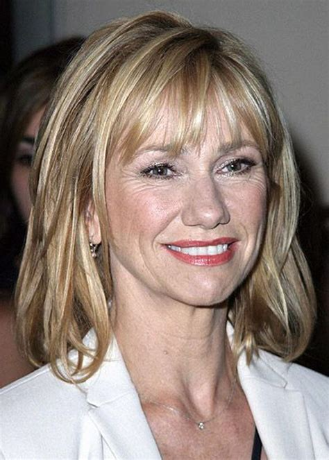hairstyles with bangs 40 years medium to long hairstyles for women over 40 medium