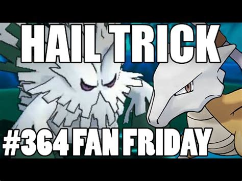 trick room trick room hail omega ruby alpha sapphire wifi battle fan fridays 364