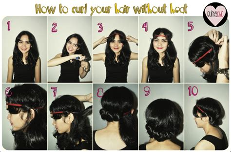 how to curl your hair fast with a wand curl quirkychicdaily
