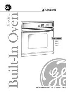 ge oven jkp15 user s guide manualsonline com