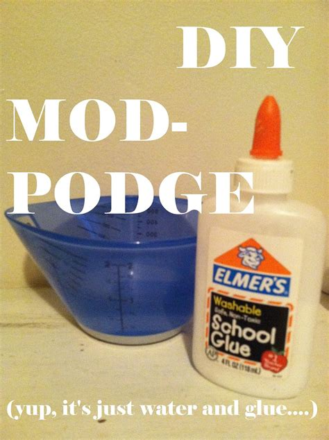 How To Decoupage With Mod Podge - my american confessions tuesday how to make diy mod