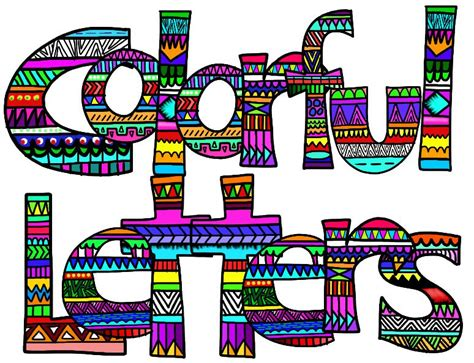printable alphabet letters clip art clip art alphabet set colorful letters numbers and